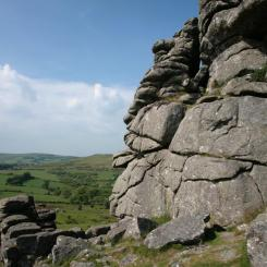 Hound Tor Rock - Dartmoor