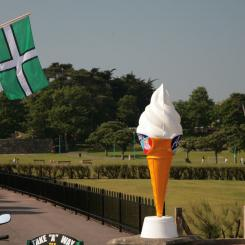 Icecream and Devon Flag - Paignton