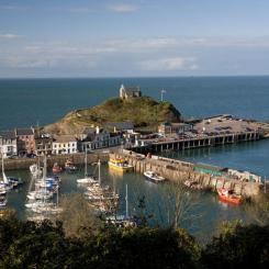 Ilfracombe Harbour and St Nicholas' Chapel