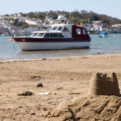 Instow Beach Scene