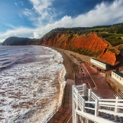 Jacobs Ladder Beach, Sidmouth