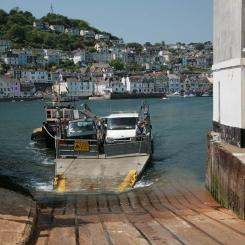 River Dart Ferry Arrives in Kingswear