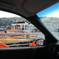 Onboard the Dart Ferry
