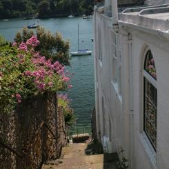 Glimpse of River Dart - Kingswear
