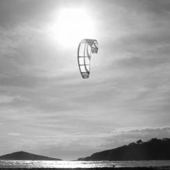 Bantham Kite Surfer