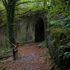 Lydford Gorge Entrance