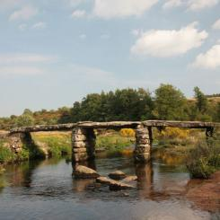 Postbridge Clapper Bridge - Dartmoor