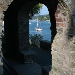 Salcombe - River through Arches