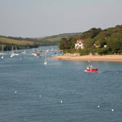 Salcombe Fishing Boat