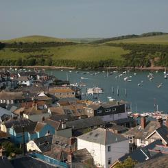 Salcombe Rooftop View
