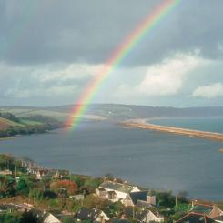 Rainbow over Slapton
