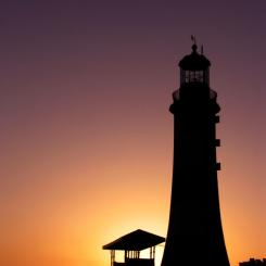 Smeaton's Tower - Sunset
