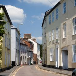 St Peter's Street - Tiverton