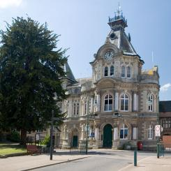 Town Hall - Tiverton