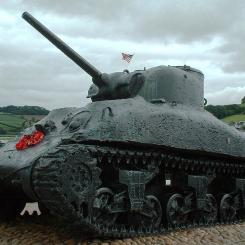 Torcross Sherman Tank