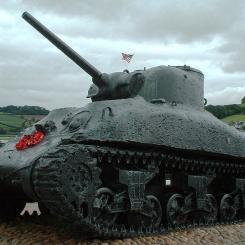 Torcross Sherman Tank