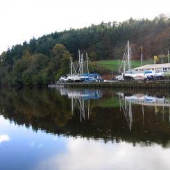 Totnes Quayside Reflections