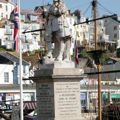 William of Orange Statue - Brixham