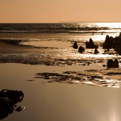 Woolacombe - Barricane beach sunset