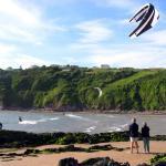 Kite Surfing at Bantham