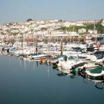 Boats in Brixham Marina