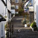View up the Hill - Clovelly