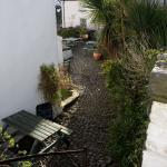 Clovelly Courtyard