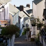 Clovelly - View down the Hill