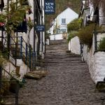 Clovelly - View up the Hill