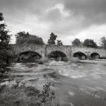 Culmstock Bridge - Black and White