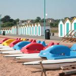 Goodrington beach pedaloes