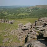 The View from Hound Tor