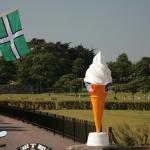Icecream and Devon Flag - Paignton