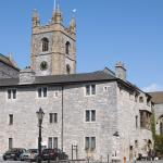 Prysten House and St Andrew's Church - Plymouth