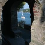 Salcombe - River through Arches