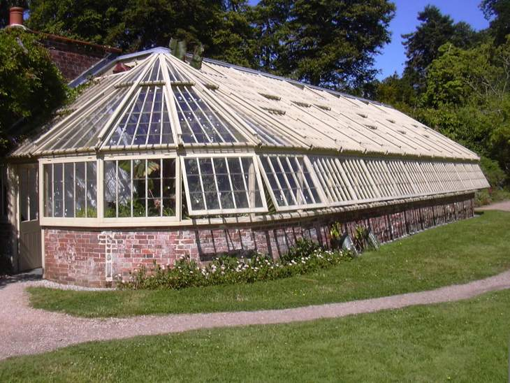 Greenway Victorian greenhouse