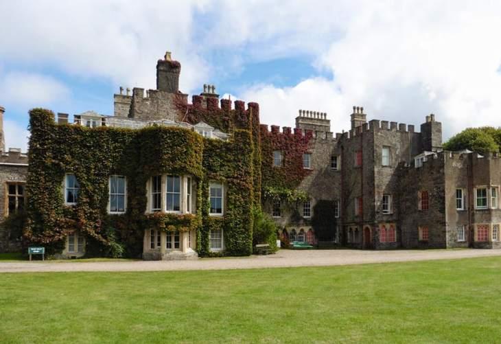 Hartland Abbey - Rear elevation