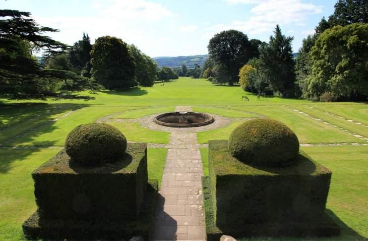 Knightshayes parkland