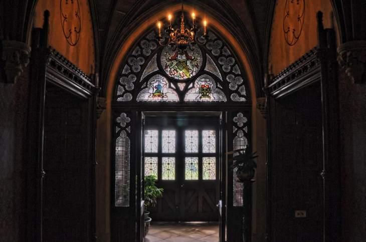 Knightshayes Victorian Gothic interior