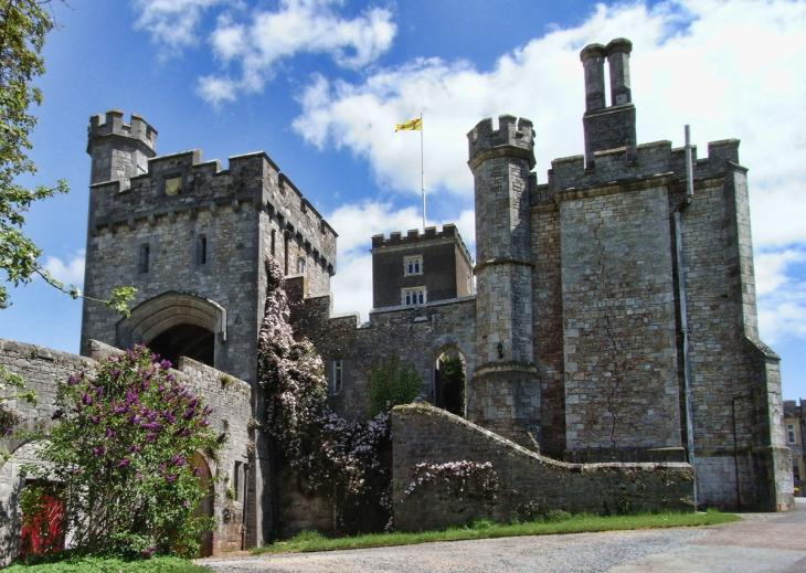Powderham Castle from the south west