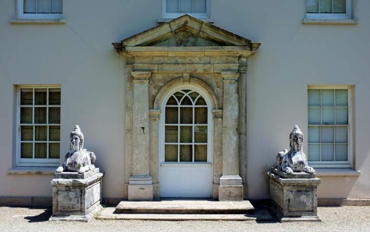 Saltram house - Neoclassical doorway