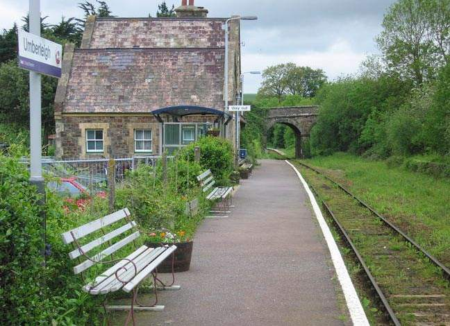 Tarka Line - Umberleigh Station