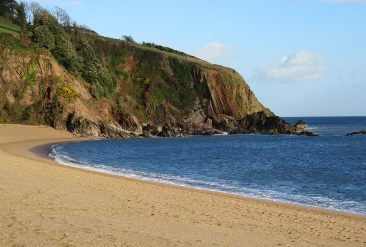 Blackpool Sands beach - Devon