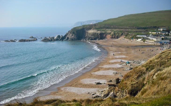 Challaborough beach, Devon