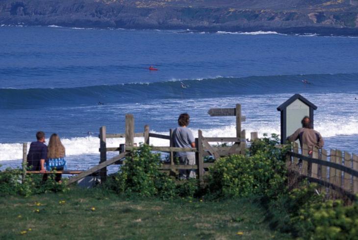 Croyde Surf Scene