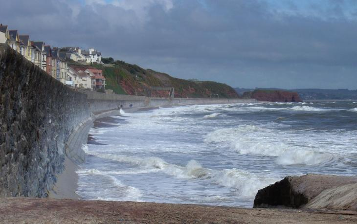 Dawlish Sea Front