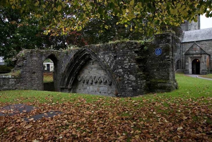 Tavistock Abbey Cloisters