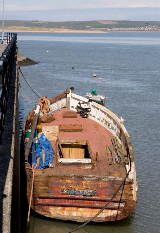Old Boat - Appledore