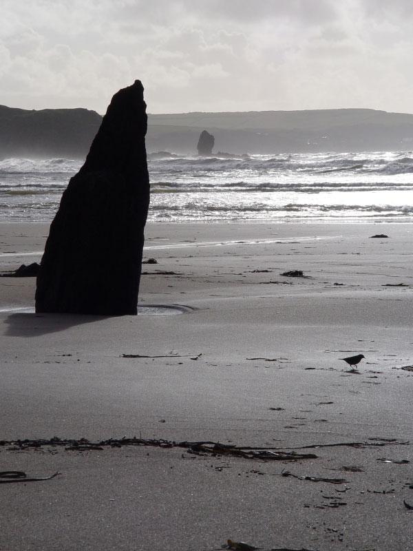 Bigbury Beach Rock