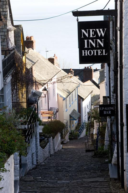 Clovelly - Down the Hill